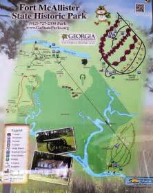mcallister map pin by fort mcallister state historic park on fort