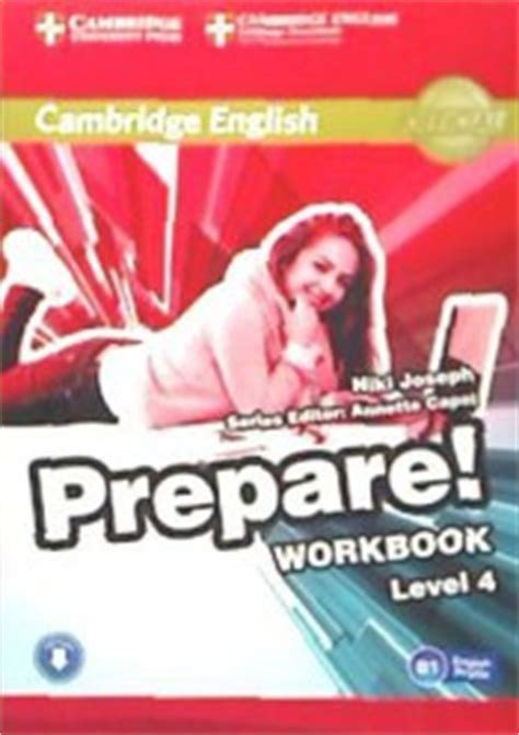 libro cambridge english prepare level cambridge english prepare level 4 workbook with audio cambridge university press agapea