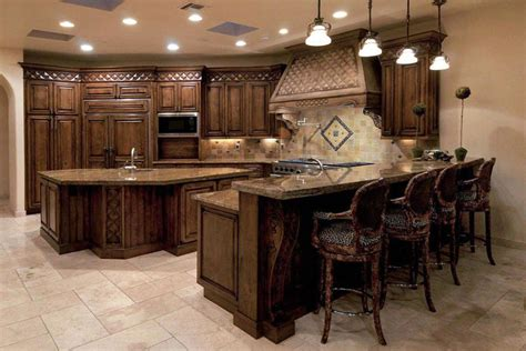granite top bar cabinet 37 gorgeous kitchen islands with breakfast bars pictures