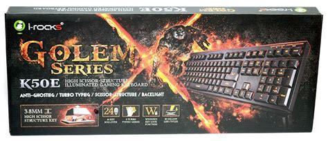I Rocks Kr6421 Scissor Keyboard i rocks golem series k50e scissor switch gaming keyboard