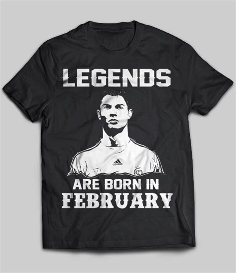 legendary gamers are born in february small blank lined journal for gamers gamer gift for and boys gamer birthday gift for february birthdays books legends are born in february cristiano ronaldo t shirt