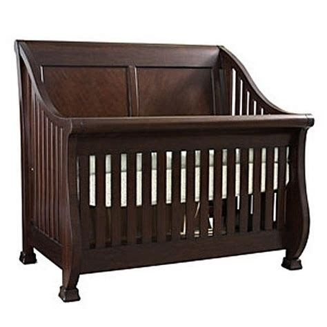bassettbaby louis philippe lifetime crib cherry by
