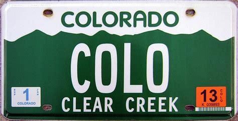 Vanity Plates Colorado by Colorado 2