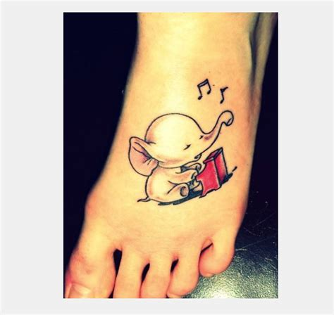 unique simple tattoo design 25 cute small elephant tattoos