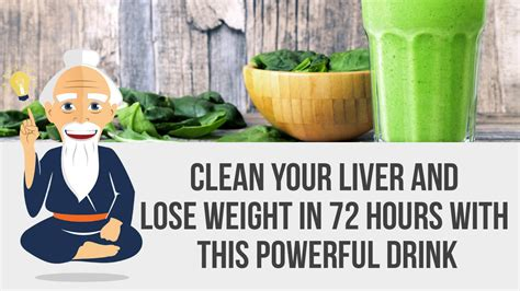 Does Detoxing Clean Out Your Blood by Clean Your Liver And Lose Weight In 72 Hours With This