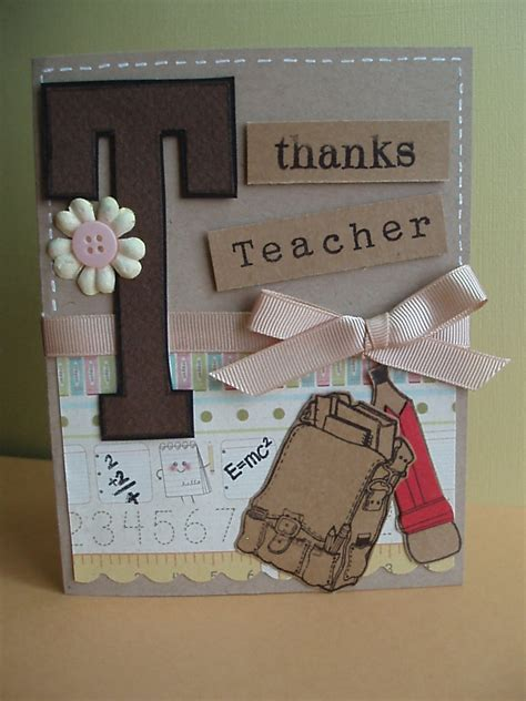 Handmade Teachers Day Cards - day cards