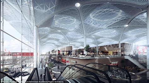 Square Miles To Square Feet by Istanbul New Airport Will Have Six Runways And The World S