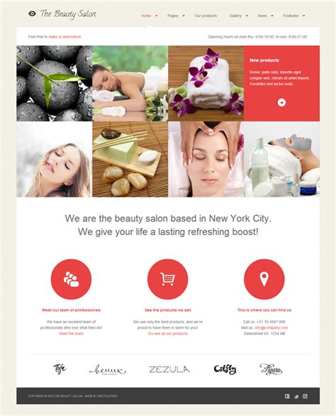 wordpress themes free hair salon 15 wordpress themes for spa and beauty salons