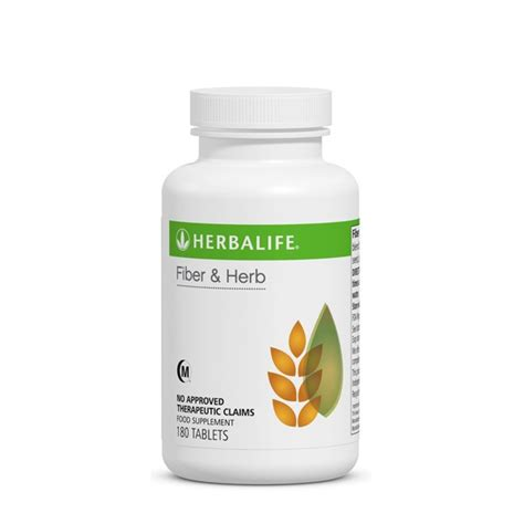 fiber and herb tablets independent herbalife member