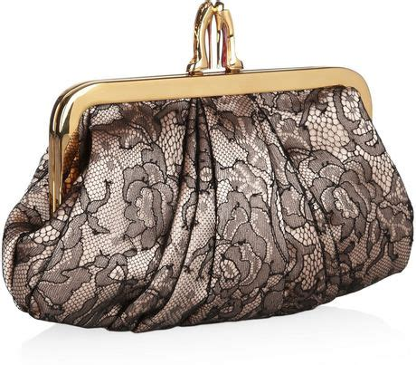 Christian Louboutin Satin Clutch Purses Designer Handbags And Reviews At The Purse Page by Christian Louboutin Mini Loubi Lula Lace And Satin Frame
