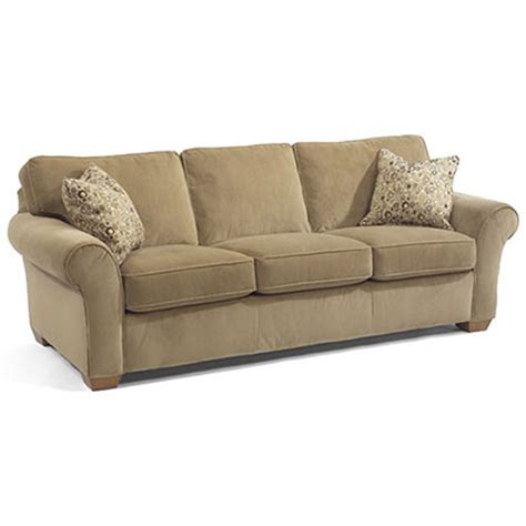flexsteel vail sofa price flexsteel 7305 31 vail sofa discount furniture at hickory