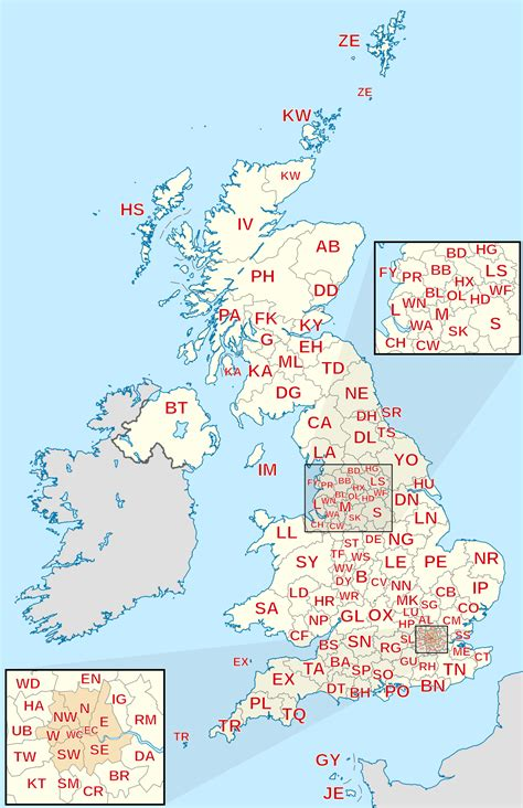Find By Postcode Postcodes In The United Kingdom