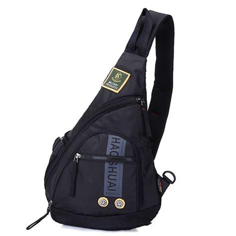 Sling Bag Waterproof Sling Bag Anti Air Navy waterproof oxford messenger one shoulder rucksack cross bag book knapsack