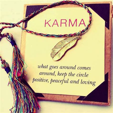 The Circle Of Karma daily quotes quote about karma what goes around comes