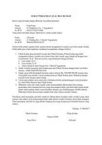 contoh surat perjanjian jual beli rumah terbaru