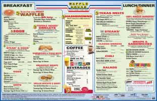 Waffle House waffle house menu waffle house