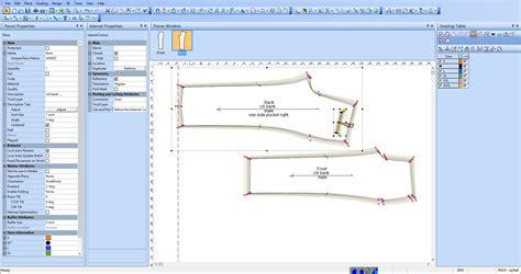 digital pattern grading grading sizes moda ling
