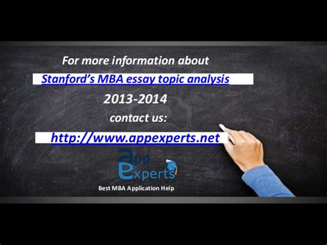 Mba Gd Topics 2014 With Answers by Stanford Mba Essay Topic Analysis 2013 2014