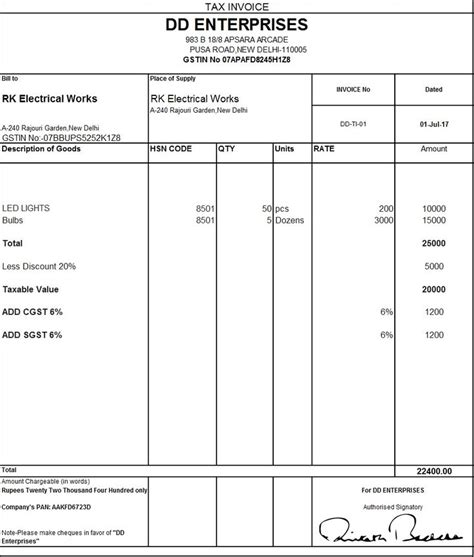 invoice format in excel sheet free download free printable invoice