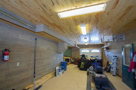 Garage Wainscoting Ideas by Renovating Your Garage With Our Barnwood Paneling