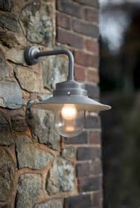 Outdoor Patio Wall Lights Belfast Light In Coffee Contemporary Outdoor Garden Wall