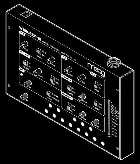 werkstatt menu the moog werkstatt 216 1 synthesizer kit for makers and