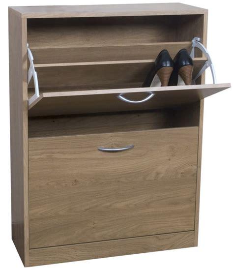 oak effect shoe storage shoe storage b and q bandq select 2 tier shoe cabinet oak