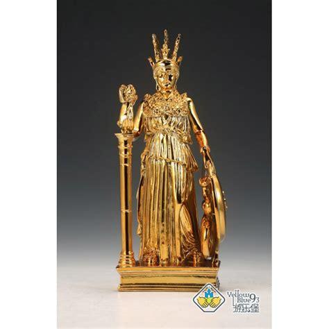YellowBlue93 Saint Seiya Athena Statue Golden Edition