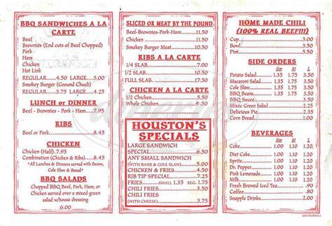 pit restaurant menu huston s pit bbq menu los angeles dineries