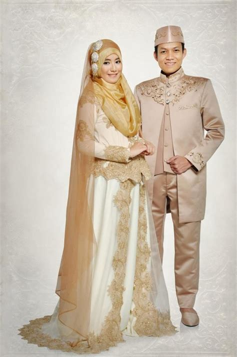 Koko Syari Modern Putih baju pengantin 2016 newhairstylesformen2014