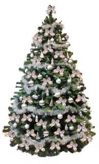 tree silver white: christmas floral displays christmas trees fresh christmas trees