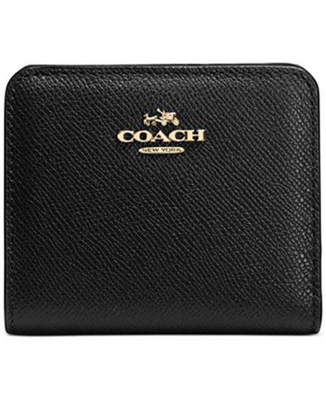 Coach Embossed Wallet Limited coach embossed small wallet in leather handbags