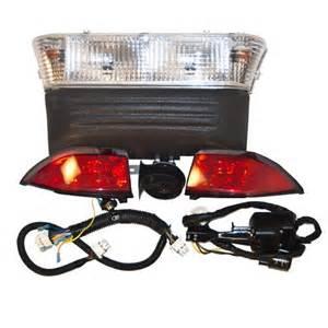 Club Car Lighting Kit Deluxe Light Kit For Club Car Precedent 2004 2008 5 Golf