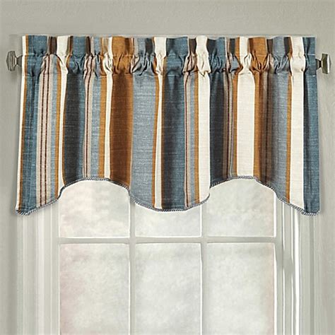 j queen valdosta shower curtain buy j queen new york valdosta stripe scallop window