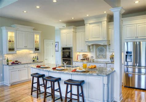 kitchen island columns 2018 15 beautiful kitchen island designs with columns housely
