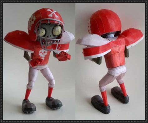 Papercraft Football - papercraftsquare