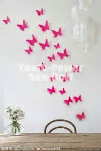 3d Butterfly Stickers For Walls 3d wall sticker butterfly 30pcs home room decor