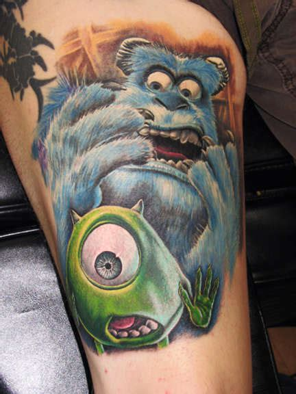 monsters inc tattoo shop monsters inc