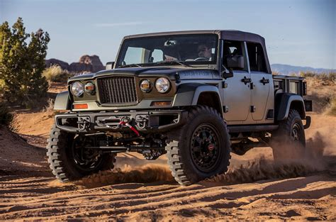 Jeep Trucks 2018 Jeep Wrangler Could Get Up Variant Autocar