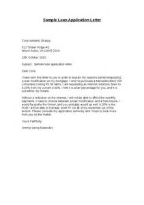 Letter To Bank For Loan From Employer Sle Loan Application Letter Hashdoc