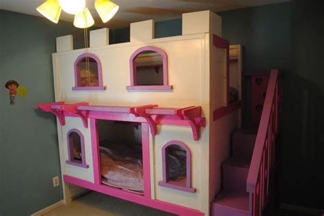 castle bunk beds for girls girls princess castle bunk beds diy projects around the