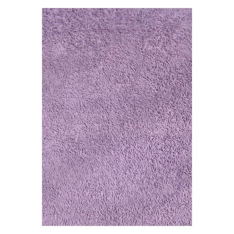 Lavender Throw Rugs rugs cssh 21 lavender cotton shag area rug atg stores