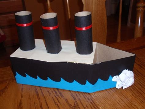 origami cardboard boat how to make a cardboard canoe for your kids in the pool 5