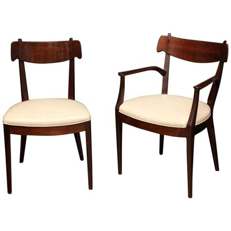 Drexel Dining Room Furniture Set Of Drexel Dining Chairs At 1stdibs