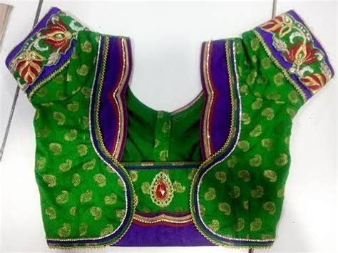 Leccy Top Blouse Hq top 100 patch work blouse designs south india fashions