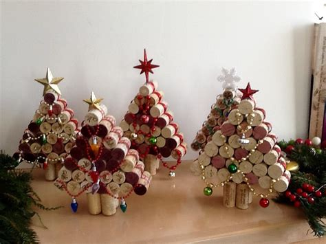 christmas ideas for wine corks wine cork tree upcycled cork