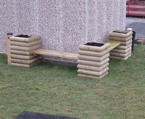 bench description bench and planter combination caledonia play