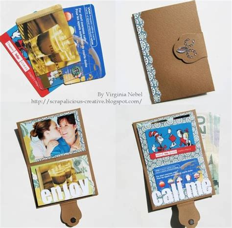 cool cards to make scrapbook cards today cool wallet card with virginia
