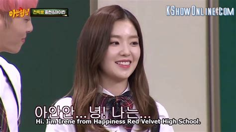 drakorindo knowing brother red velvet eng sub 160618 knowing brother ep29 red red