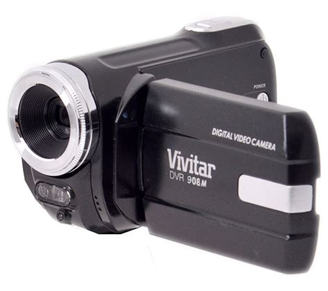 with camcorder vivitar dvr908mfd traditional camcorder black deals pc